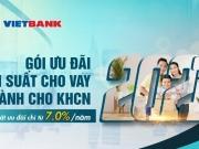 VietBank ưu đãi lãi suất từ 7%/năm hỗ trợ khách hàng mùa Covid-19