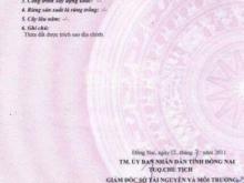 Cần bán đất Biên Hòa-Đồng Nai, sổ hồng thổ cư 100%. Giá 1tỷ4. Liên hệ : 0912.557.106