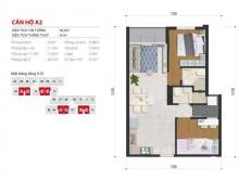 Bán căn hộ High Intela MT võ văn kiệt P16 Q8 2PN/64m B12.02 chỉ 1,74 tỷ đã vat , sở hữu vĩnh viễn Lh 0938677909
