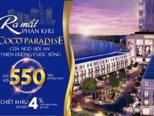 Coco Paradise cửa ngõ Hội An - ĐN, liền hề resort X2 Hội An, giá đầu tư