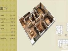 Chính chủ bán gấp căn góc tòa V3 Home City, 95,68m2 BC ĐN, full NT, 3 tỷ 280 triệu .Lh 091.369.3443