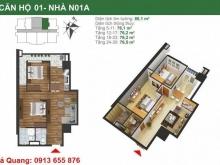 Bán gấp căn hộ diện tích 76m2 giá 1.867 tỷ tại dự án K35 Tân Mai - Hoàng Mai - Hà Nội.