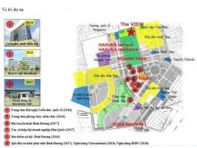 Mở bán căn hộ cao cấp Nhật Bản The View, khu trung tâm 1000ha TP mới Bình Dương