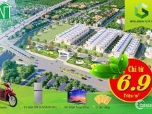 Dự án Golden City Bà Rịa, mặt tiền QL 55, Chỉ từ 6tr9/m2. CK lên tới 2,5%. Tặng ngay 2 chỉ vàng cho ngày mở bán