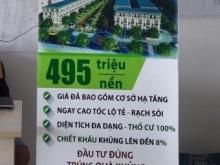 Mở bán KDC & TTTM  Cần Thơ -Residence giai đoạn 1 giá chỉ từ 495tr/nền