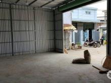 Bán đất 2 mặt tiền tặng nhà xưởng mới xây tại Tân Phước, Bình Tân