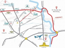Chính thức nhận giữ chỗ 63 nền đất dự án Hòa Phú Town- Bình Mỹ - Củ Chi