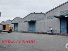 Kho xưởng cho thuê gần Ga Dĩ An