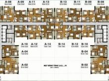 Bán căn hộ vào tên trực tiếp Chủ Đầu Tư Tecco Thanh Trì – Gía dưới 1 tỷ .Lh:0339177569.
