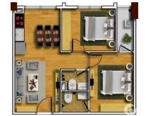Bán gấp căn hộ 2309 chung cư Tecco Thanh Trì. LH: 0339177569