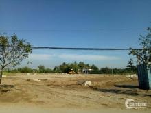 Đất đối diện trường tiểu học Long Hòa, giá chỉ 495tr, có sổ hồng, bao giấy phép xây dựng