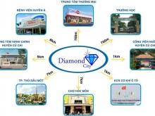 Mở bán dự án Diamond city 15tr/m2 ngay ngã tư Tân Quy
