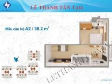 330tr vào ở ngay căn hộ 38.2m2 tại quận Bình Tân