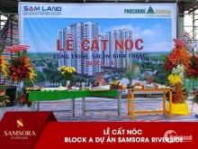 Chính chủ cần bán 3 căn hộ dự án Samsora Riverside, Bình Dương.