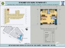 Nhà đẹp đón tết CT5 kđt Xala 68m sđcc 1,12 Tỷ (có TL)