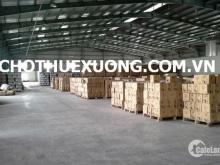 Cho thuê kho xưởng tại Hà Nội trong Cụm công nghiệp Phú Minh DT 2015m2 giá rẻ