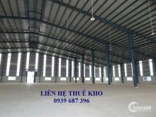 Cho thuê kho trong KCN Sóng Thần, Bình Dương