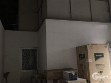 Mặt bằng kho xưởng cho thuê, Phường 8, Q.Gò Vấp, 750m2, hẻm rộng 12m.