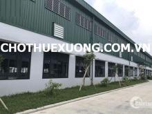 Cho thuê nhà xưởng mới đẹp tại Quán Gỏi Bình Giang Hải Dương DT khuôn viên 5015m2