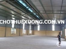 Cho thuê nhà xưởng tại Yên Mô Ninh Bình DT 4005m2 giá rẻ