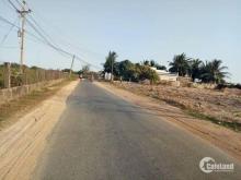 Đất nền chính chủ mặt tiền đường nhựa ngay KDC xã Hàm Liêm, giá rẻ 390 triệu/nền