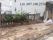 Bán mảnh đất 50m2 tại khu TĐC Xóm Lò, Thượng Thanh. Đường 15m, có vỉa hè 1,5m. Giá: 54tr/m2