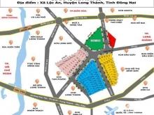 Đầu tư đất nền sinh lợi cao tại dự án Long Thành New Town , liền kề ủy ban xã Lộc an , 11tr/m2