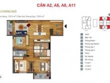 Căn 3 ngủ tiêu chuẩn 5 sao dự án Sky Park Residence, ưu đãi lớn từ CĐT