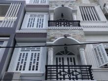 Bán nhà 3 lầu mới đẹp mặt tiền hẻm 6m 90 Dương Cát Lợi Nhà Bè (kho A).