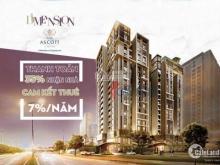 D1 Mension căn hộ có thương hiệu với cam kết cho thuê 7%/năm. LH: 0813633885