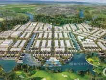 5 lô nhà phố, đã có sổ dỏ, view sân golf Long Thành, giá 15 triệu/m2. Ck 3%-18%