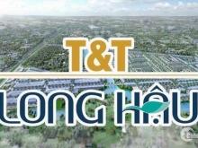 Kẹt tiền bán nhanh lô nền dự án T&T Long Hậu, 100m2, 1 tỷ 280tr.