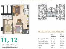 Bán căn hộ 67,6m2 view đường đại lộ Trường Sa với giá chỉ 19 triệu/m2