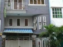 Bán nhà mặt tiền 32m, sổ hồng riêng, đang cho thuê gia đình 8tr/tháng.