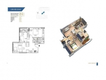 Bán căn hộ chung cư tại Dự án Hà Nội Homeland, Long Biên, Hà Nội diện tích 58m2 giá 1.250 Tỷ