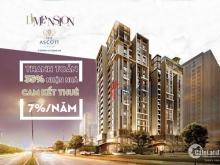 Độc Quyền 102 căn hộ cao cấp D1 Mension - Capitaland Q1, chiết khấu 6.5%, thuê lại 14% trong 2 năm