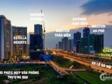 Nhận giữ chỗ căn hộ Masteri Parkland vị trí mặt tiền Võ Trường Toản & Song Hành, Thảo Điền, Quận 2.