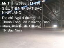 Cho thuê kho xưởng quanh khu vực và lân cận TP.Bắc Ninh