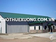 Cho thuê xưởng mới xây tại Quán Gỏi Bình Giang Hải Dương DT 3610m2 giá hợp lý