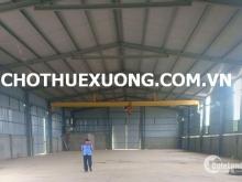 Cho thuê kho xưởng đẹp tại Nguyên Khê Đông anh Hà Nội DT 905m2
