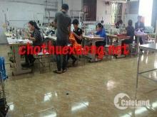 Cho thuê xưởng may tại thành phố Hải Dương DT 515m2 giá tốt