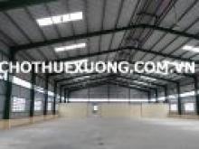 Cho thuê xưởng đẹp mới xây tại KCN Quế Võ 2, Bắc Ninh, DT 12.000m2.