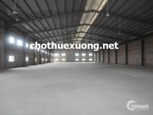 Cho thuê gấp nhà xưởng tại Phú Diễn Từ Liêm Hà Nội DT 2015m2 giá rẻ