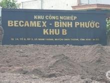 Đất nền Cơ hội đầu tư vàng, đón đầu  KCN Becamex bình phước giá chỉ từ 550tr/nền