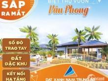 Đất nền sổ đỏ đặc khu kinh tế Vân Phong- chỉ từ 555 triệu/lô 200m2