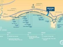 Đất nền ven biển Mũi Né, Sentosa Villa, 11 triệu/m2, đã bàn giao nền