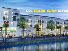 """Đất KDC Thạnh Xuân Riverside - Thanh toán 990tr nhận nền mặt tiền view bờ kênh """"nghìn tỷ"""""""