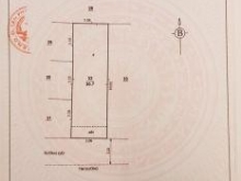 Bán gấp đất 75/Lê Liễu, tặng GPXD. Dt 3.09m x 10.2m. Giá 3.4 tỷ. TL