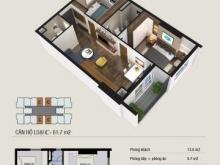 Căn hộ Thăng Long Capital mặt đường Đại lộ Thăng Long 2PN 62m2 giá chỉ 1.26TỶ LS 0% LH 0972461892