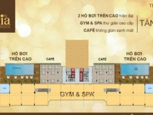 Căn hộ Saigon Mia Trung Sơn, nhận nhà ở liền 83 m2/ 2PN